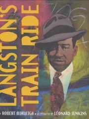 Cover art for LANGSTON'S TRAIN RIDE