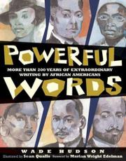 Cover art for POWERFUL WORDS