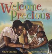 WELCOME, PRECIOUS by Nikki Grimes