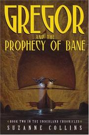 Cover art for GREGOR AND THE PROPHECY OF BANE