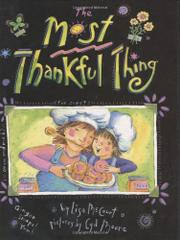 Cover art for THE MOST THANKFUL THING