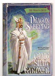 THE DRAGON CIRCLE: DRAGON SLEEPING by Craig Shaw Gardner
