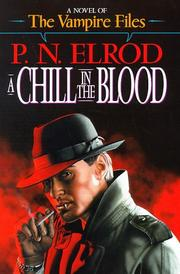 Book Cover for A CHILL IN THE BLOOD