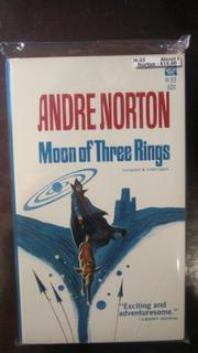 MOON OF 3 RINGS by Andre Norton