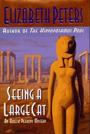 Cover art for SEEING A LARGE CAT
