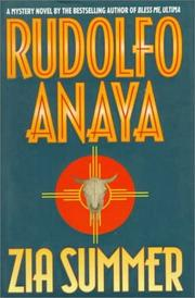 ZIA SUMMER by Rudolfo Anaya