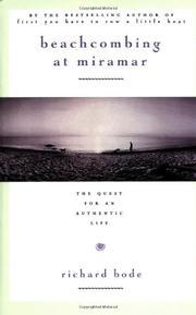 BEACHCOMBING AT MIRAMAR by Richard Bode
