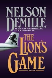 Cover art for THE LION'S GAME