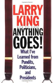 ANYTHING GOES by Larry King