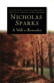 Cover art for A WALK TO REMEMBER