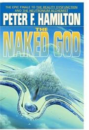 Cover art for THE NAKED GOD