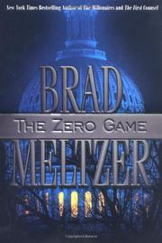 Cover art for THE ZERO GAME