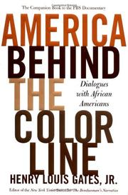 Cover art for AMERICA BEHIND THE COLOR LINE