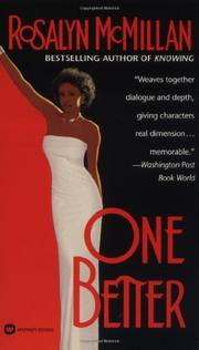 ONE BETTER by Rosalyn McMillan