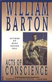 ACTS OF CONSCIENCE by William Barton