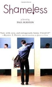SHAMELESS by Paul Burston