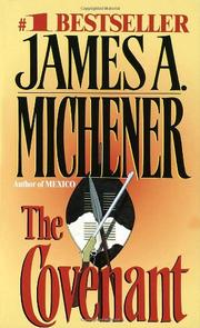 THE COVENANT by James A. Michener