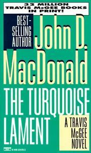 TURQUOISE LAMENT by John D. MacDonald