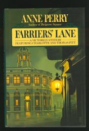 FARRIER'S LANE by Anne Perry