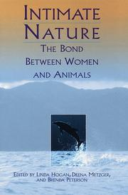 Book Cover for INTIMATE NATURE