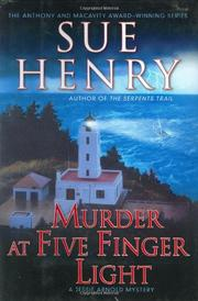 Cover art for MURDER AT FIVE FINGER LIGHT