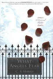 Cover art for WHAT ANGELS FEAR