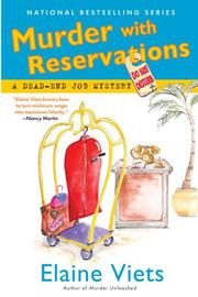 Cover art for MURDER WITH RESERVATIONS