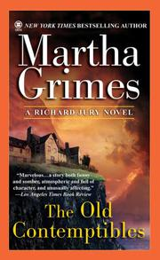 THE OLD CONTEMPTIBLES by Martha Grimes