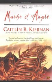 Cover art for MURDER OF ANGELS