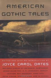 Book Cover for AMERICAN GOTHIC TALES
