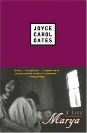 MARYA by Joyce Carol Oates