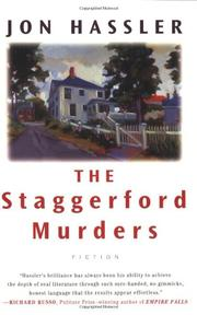Cover art for THE STAGGERFORD MURDERS/THE LIFE AND DEATH OF NANCY CLANCY'S NEPHEW