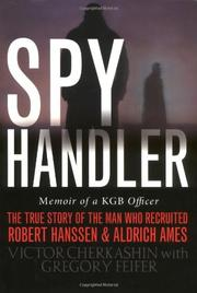 Book Cover for SPY HANDLER