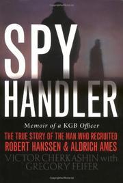 SPY HANDLER by Victor Cherkashin