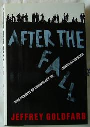 AFTER THE FALL by Jeffrey C. Goldfarb