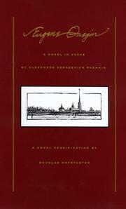 EUGENE ONEGIN by Alexander Sergeevich Pushkin