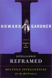 Cover art for INTELLIGENCE REFRAMED