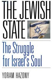 THE JEWISH STATE by Yoram Hazony