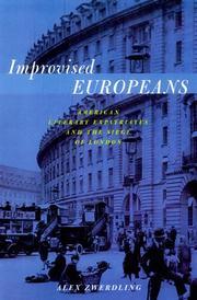 IMPROVISED EUROPEANS by Alex Zwerdling