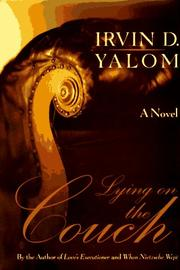 LYING ON THE COUCH by Irvin D. Yalom