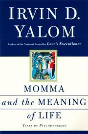 Cover art for MOMMA AND THE MEANING OF LIFE