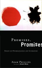 PROMISES, PROMISES by Adam Phillips