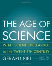 THE AGE OF SCIENCE by Gerard Piel