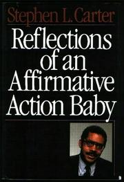 Cover art for REFLECTIONS OF AN AFFIRMATIVE ACTION BABY