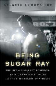 Book Cover for BEING SUGAR RAY