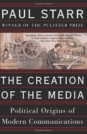 Cover art for THE CREATION OF THE MEDIA