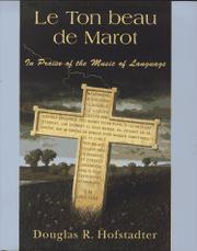 LE TON BEAU DE MAROT by Douglas R. Hofstadter