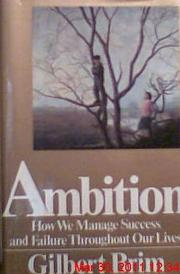 Book Cover for AMBITION