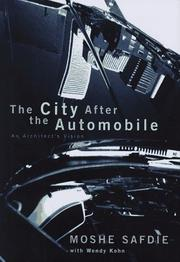 Cover art for THE CITY AFTER THE AUTOMOBILE