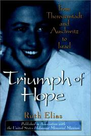 Book Cover for TRIUMPH OF HOPE